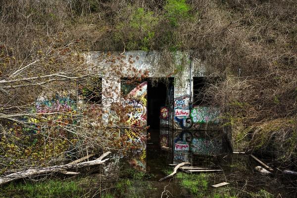 Flooded Island Bunker