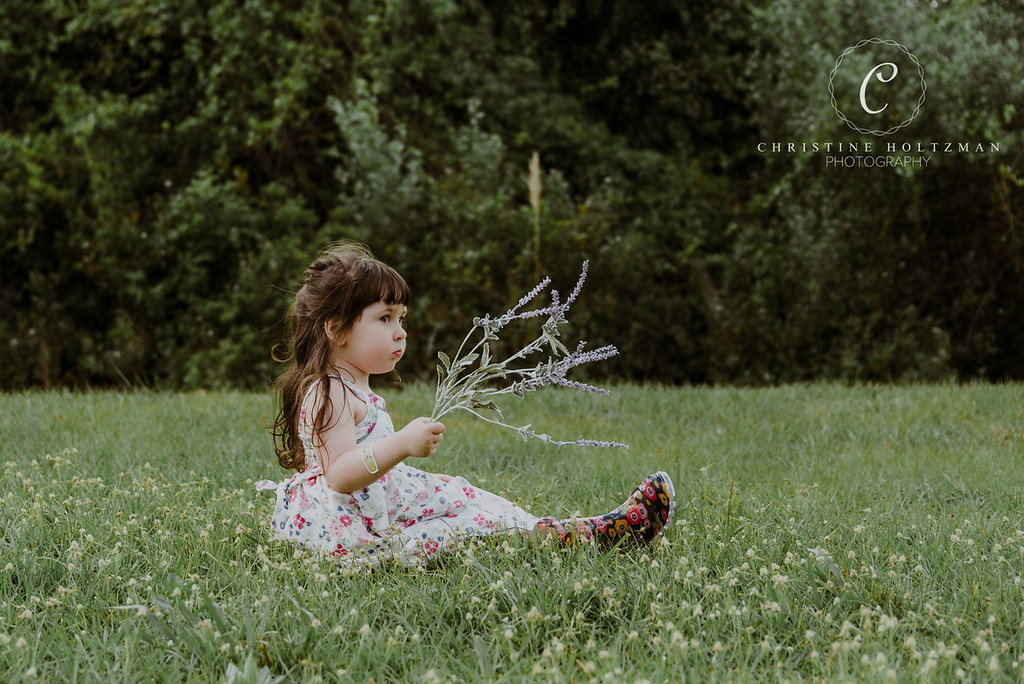 Three Year Old Portrait Session