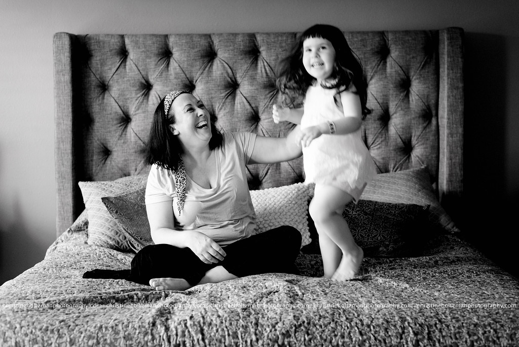 Mother and daughter, lifestyle session