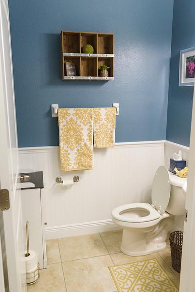 After Photo of Powder Room Bathroom