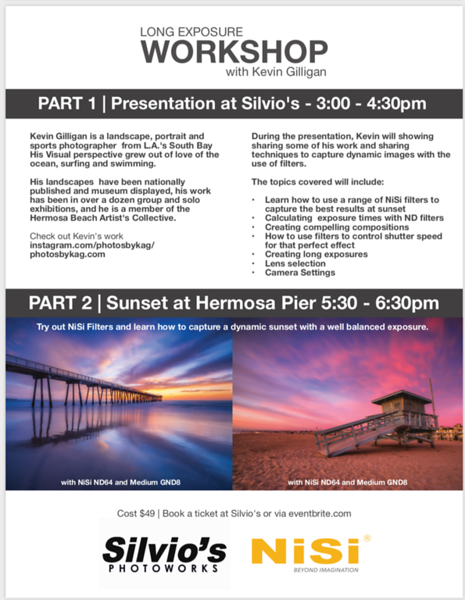 Sign up on eventbrite here:https://www.eventbrite.com/e/sunset-photography-using-long-exposure-techniques-with-kevin-gilligan-tickets-93197948573?aff=ebdssbdestsearch