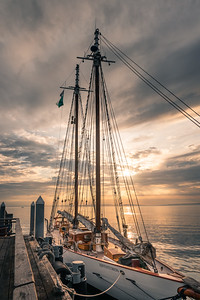 Schooner Adventuress, Dawn at Port Townsend, Washington.  This weekend would have been the Port Townsend Victorian Festival but cancelled due to COVID.  Please be patient, and stay safe.  Be kind to other people, and to yourself.