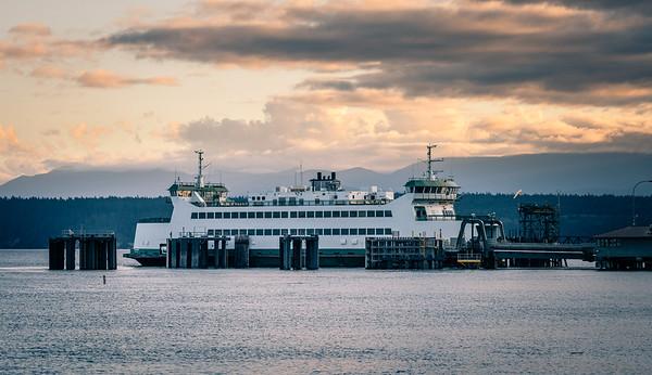 Washington State Ferry, Port Townsend, Wash.