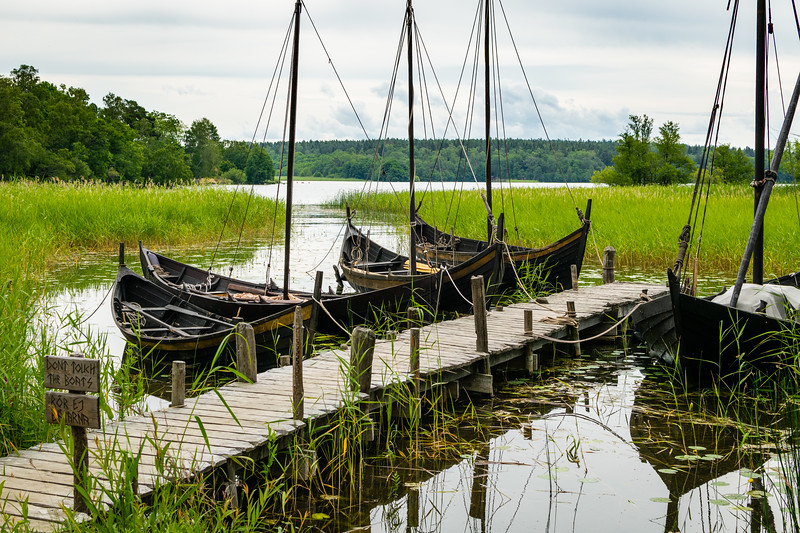 Viking Ships at Birka.