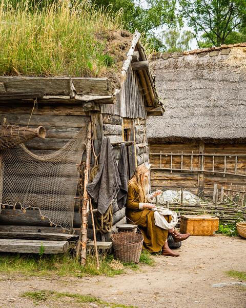 Viking Village at Birka
