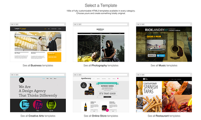 Wix review templates
