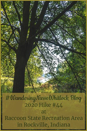 2020 Hike #44 on September 25th at Raccoon State Recreation Area in Rockville Indiana