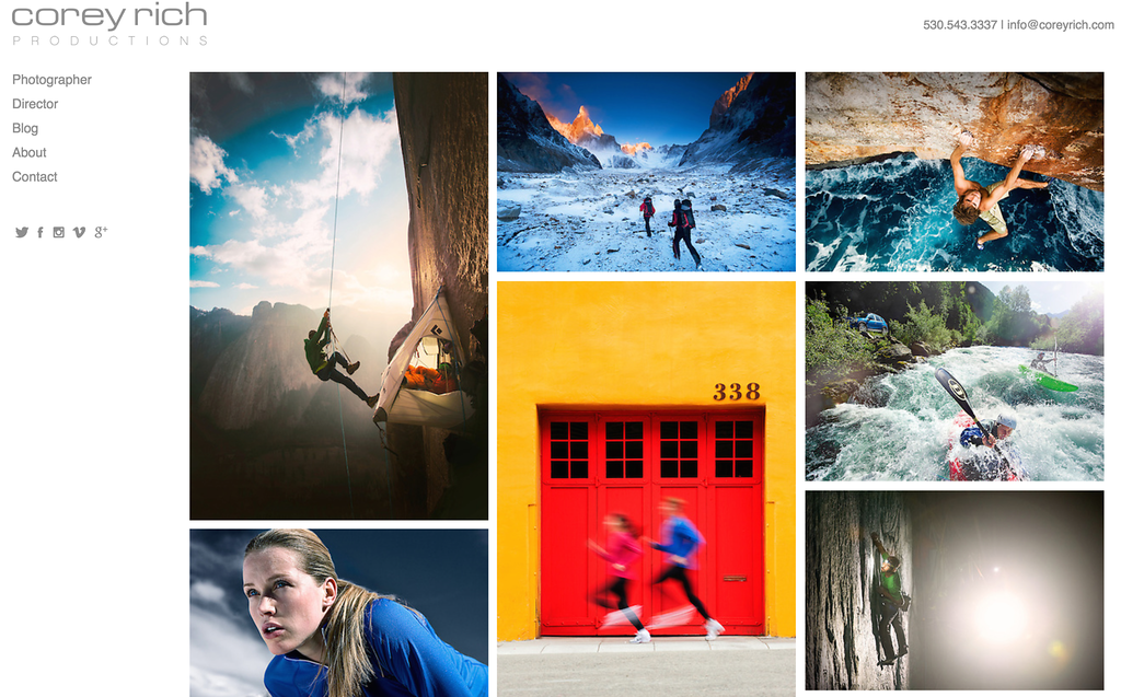 best websites for photographers review photoshelter