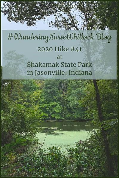 2020 Hike #41 on September 12th at Shakamak State Park in Jasonville Indiana (Trail 3 & 4))