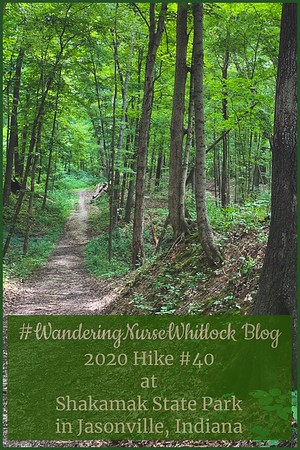 2020 Hike #40 on September 6th at Shakamak State Park in Jasonville Indiana (Trail 6)