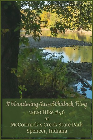 2020 Hike #46 on October 8th at McCormick's Creek State Park in Spencer Indiana (Trail 7)
