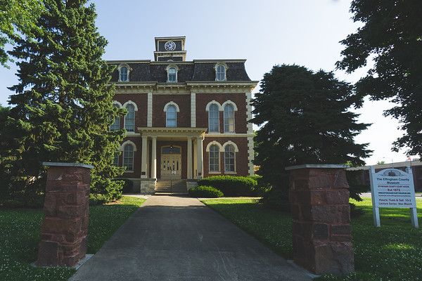 Effingham County Illinois Courthouse (Old) in Effingham
