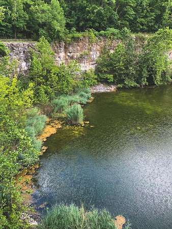 View of the Quarry from the Rim
