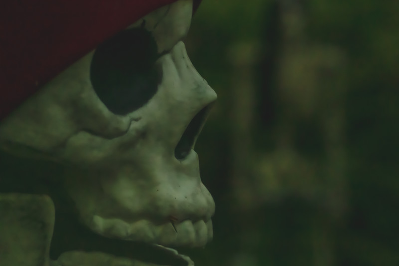 The Campground Halloween Decor