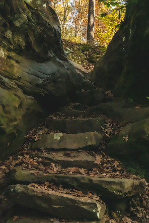 A Stone Staircase