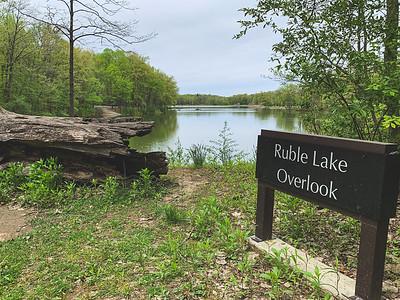 Ruble Lake Overlook (I call this Fowler Lake)