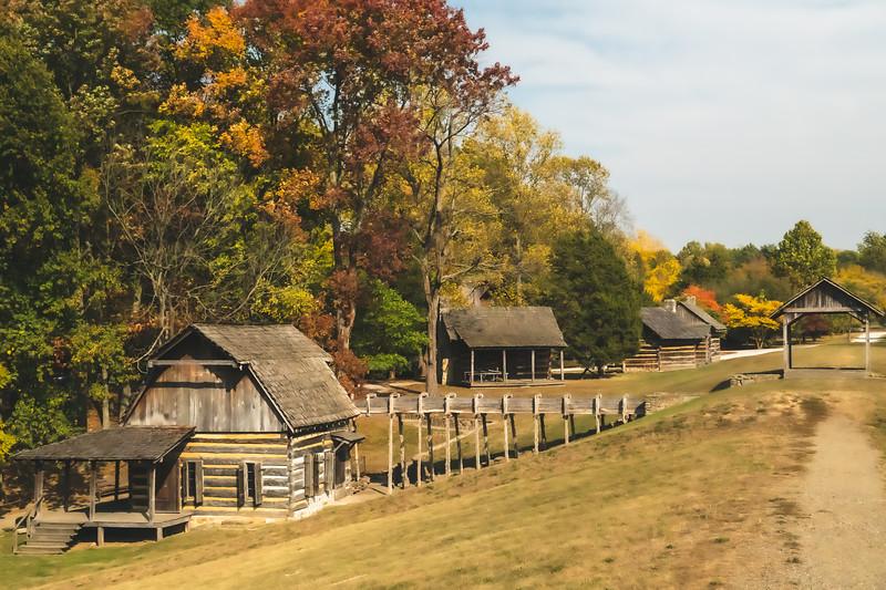 View of Pioneer Village
