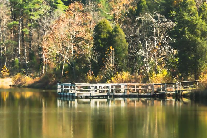 A Dock on Weber Lake
