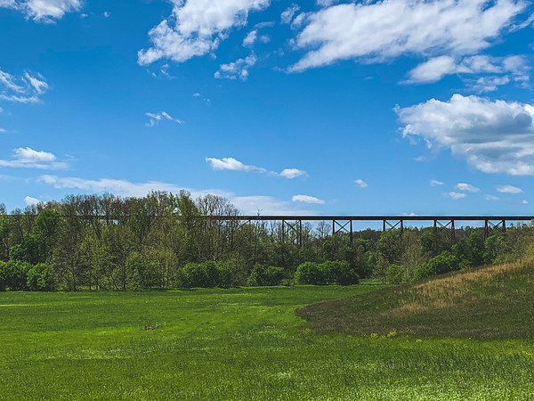 Tulip Viaduct ~ View from Afar