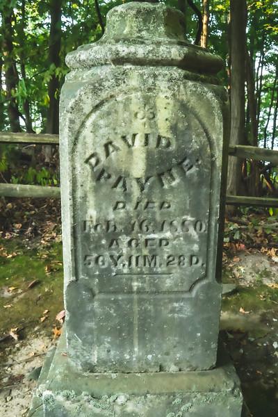 The Payne Cemetery
