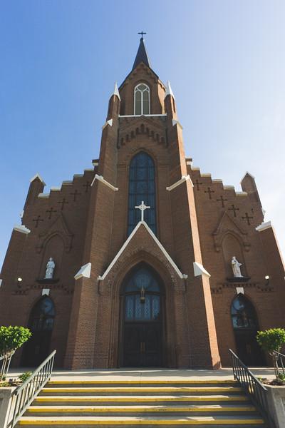 St. Anthony of Padua Catholic Church in Effingham Illinois