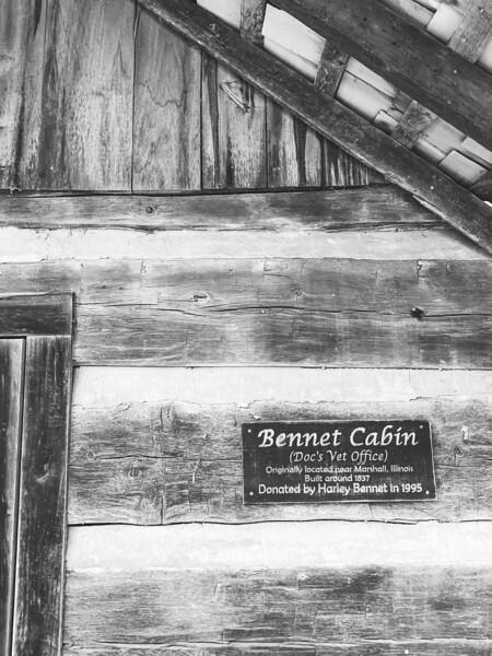 Bennet Cabin (Doc's Vet Office)