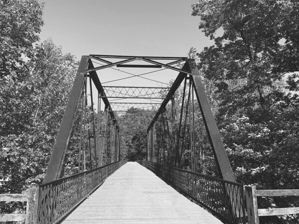 The Old Iron Truss Bridge