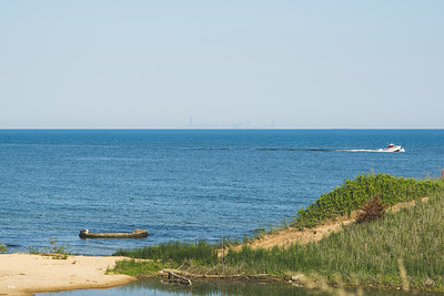 View from the Portage Lakefront