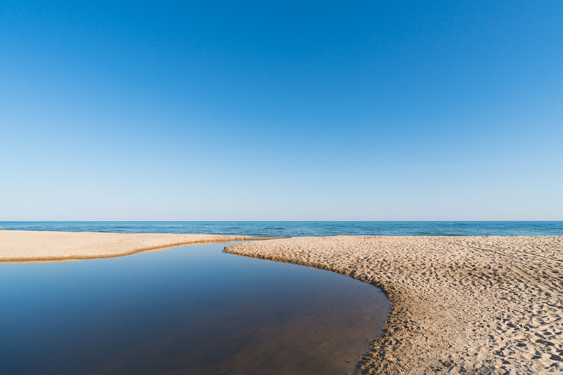 View of Lake Michigan from the State Park