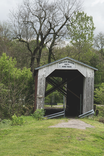 Wallace Covered Bridge in Fountain County Indiana