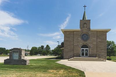 St. Mary's Catholic Church in Shumway Illinois