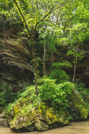 Rock Formation on Bear Creek