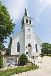 Trinity Lutheran Church in Shumway Illinois