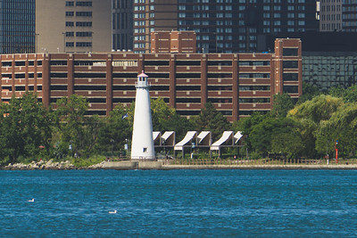 Milliken State Park Lighthouse (we didn't get to go to the park)