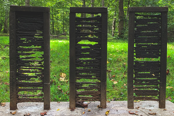 #96 Mya Kerner, Three Panels Untitled, WA