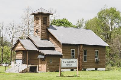 Fountain Christian Church in Fountain Indiana