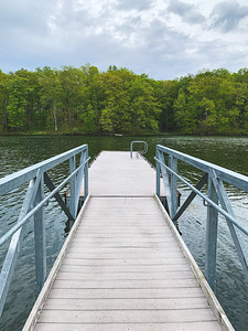 Fishing Dock on the Lake