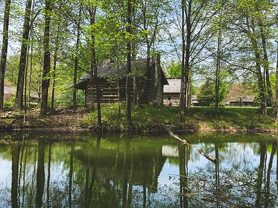 Lake View of the Log Cabin Church