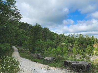 Along the  Rim Trail