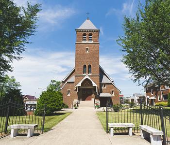 St. Clare Catholic Church in Altamont Illinois
