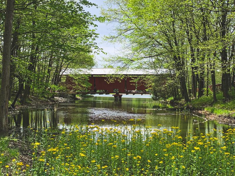 Irishmen Covered Bridge (under restoration)