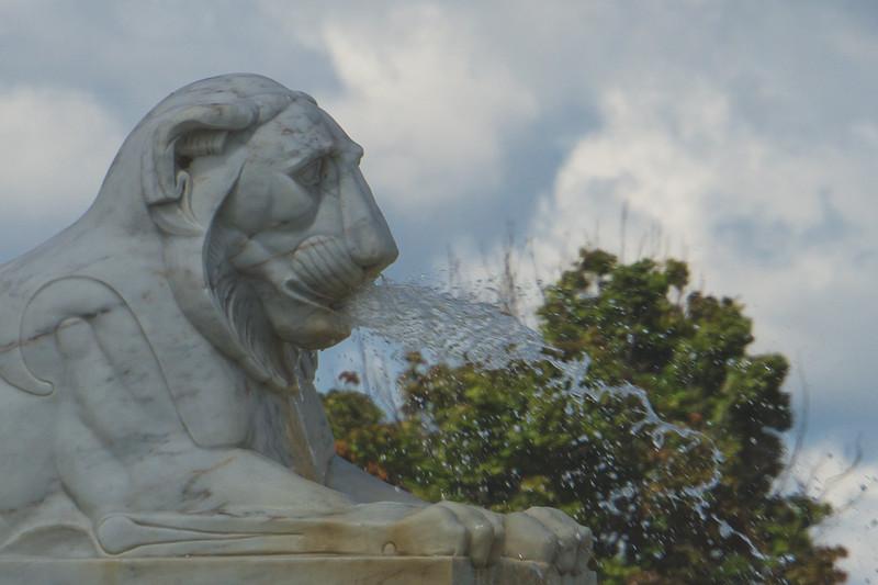 Part of the James Scott Memorial Fountain