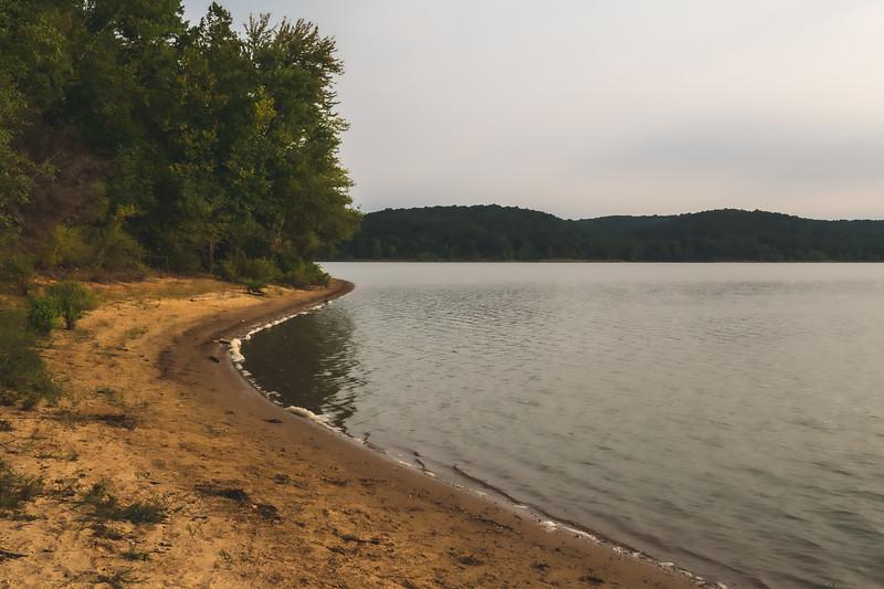 The Shoreline of Lake Monroe