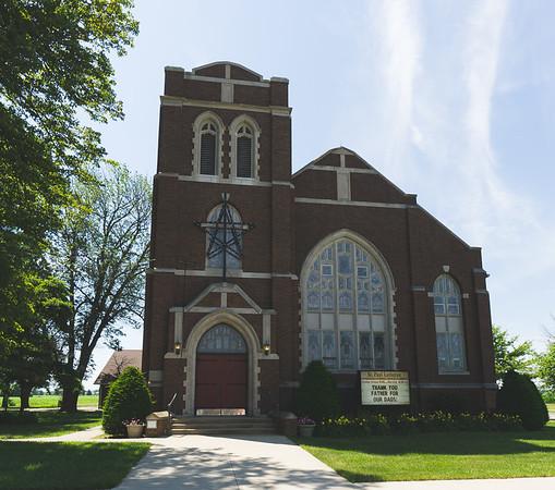 St. Paul Evangelical Lutheran Church in Altamont Illinois