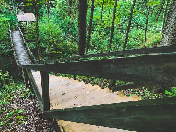 Long Staircase along Trail 4