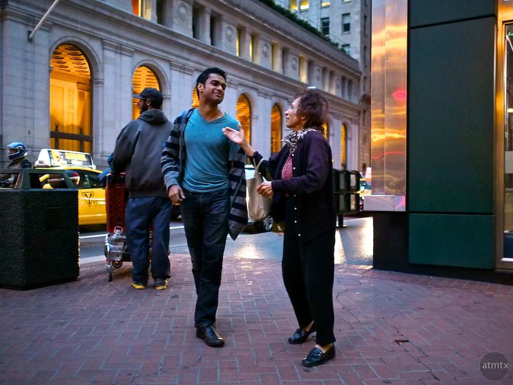 The Conversation, Market Street - San Francisco, California