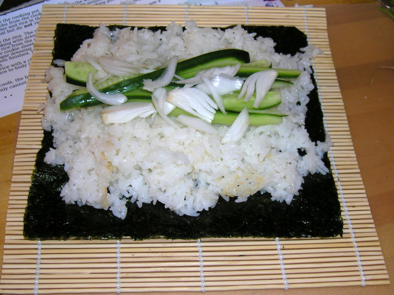 I think my rice is a bit stickier than it's supposed to be