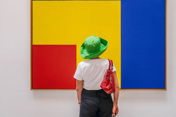 The Lady and Mondrian