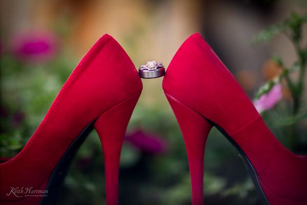 Shoe & Ring Detail
