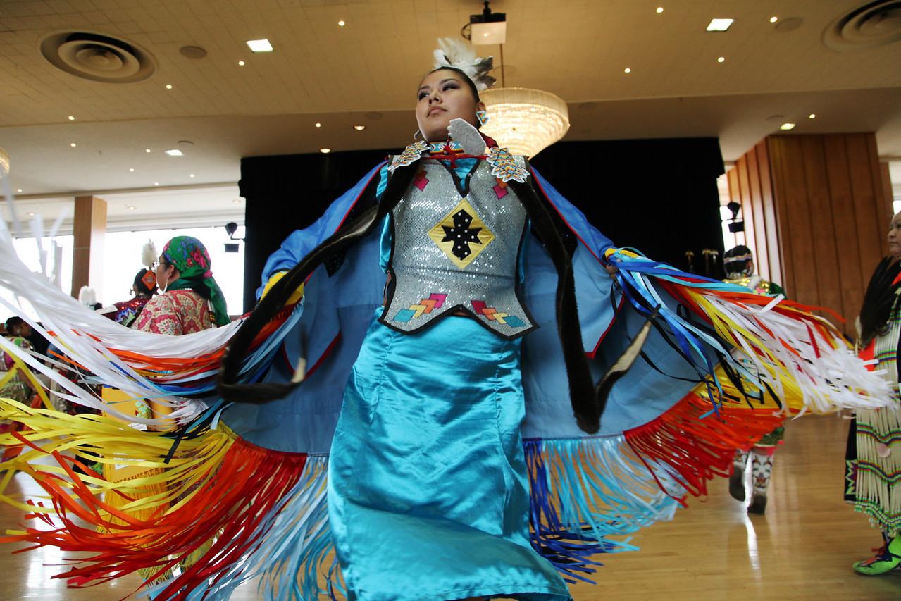 April: the inter-tribal pow-wow at the University of Utah